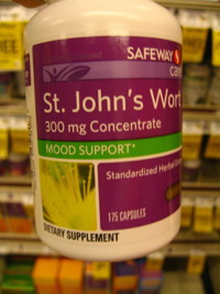 Bottle of St. John's Wort