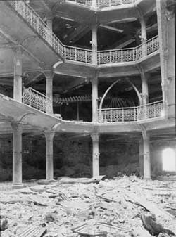 California Academy of Sciences after the 1906 Earthquake